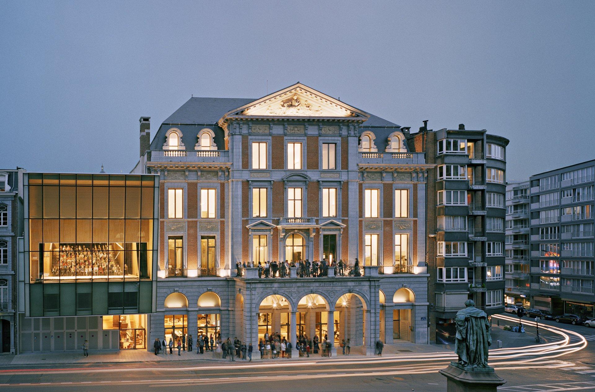 À propos : Le Théâtre de Liège